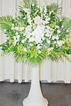 純白生花(祭壇前用)